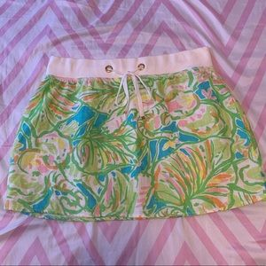 LILLY PULITZER SKIRT SIZE M